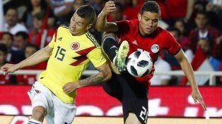 Colombia y Egipto palpitaron el Mundial con un entretenido empate
