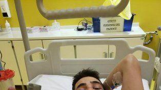 Tras el terrible accidente, publicaron una foto desde el hospital
