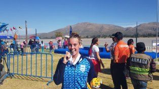 Romina Imwinkelried logró medalla de Plata