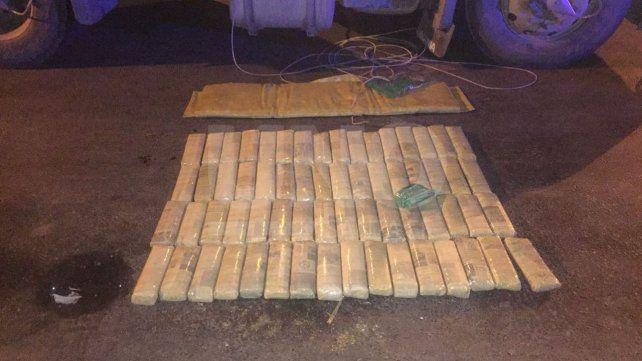 Gendarmería secuestró 60 kilos de hojas de coca en un control de ruta
