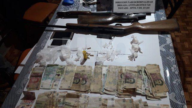 Apresaron a seis miembros de una organización narcocriminal