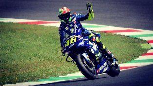 Valenti Rossi consiguió su 65º pole en el Moto GP