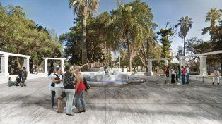 Así es el anteproyecto para renovar la plaza Constituyentes