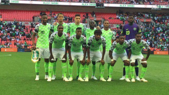 Nigeria, rival de Argentina, ya confirmó su plantel para el Mundial