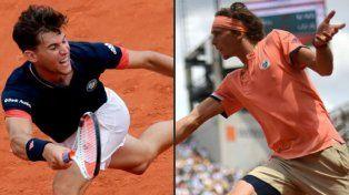 Zverev y Thiem se enfrentarán en cuartos de Roland Garros