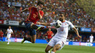 España no pudo con Suiza