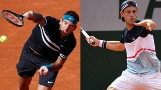 Del Potro y Schwartzman tendrán acción en Roland Garros