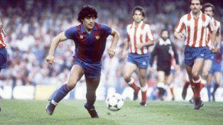 Barcelona recordó un nuevo aniversario del fichaje de Maradona
