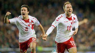 Dinamarca ratificó la lista definitiva para Rusia