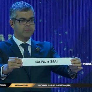 colon se medira contra el san pablo por los 16avos de la sudamericana
