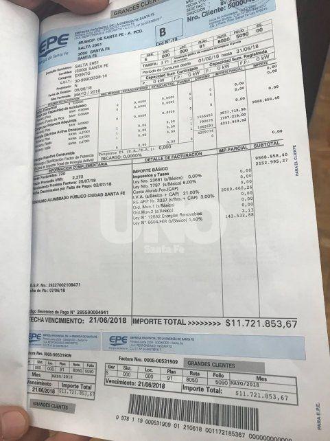 Corral: En el peor de los casos, el municipio debería pagar 30 millones a la EPE