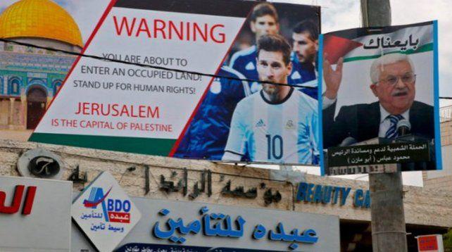 Palestina le agradeció a Argentina no jugar