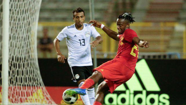 Bélgica goleó a Egipto