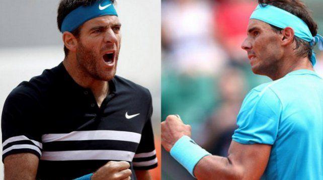 Del Potro-Nadal: hora y TV del partido más esperado de Roland Garros