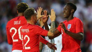 Inglaterra llega en alza a Rusia