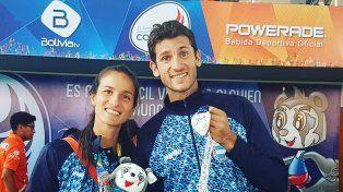 Chiaraviglio debió conformarse con la medalla de plata en Cochabamba