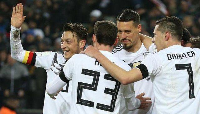Alemania cerró su preparación con una victoria