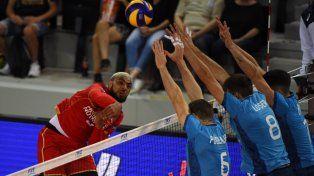 Argentina recibió una nueva derrota en la Volleyball Nations League
