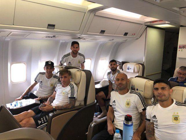 Argentina ya está en Rusia para alimentar su sueño de ganar el Mundial