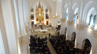 Foto: Gentileza Rosana Paola Mandarino / Página de Facebook de la Basílica de Guadalupe Santa Fe