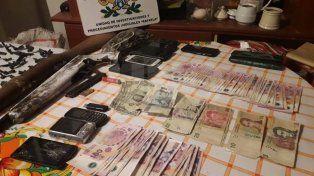 Gendarmería detuvo a cuatro integrantes de una organización narcocriminal