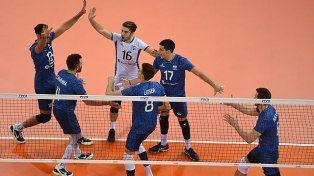 Argentina logró una cómoda victoria ante Corea del Sur en Francia