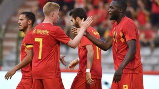 Bélgica cierra su preparación ante Costa Rica