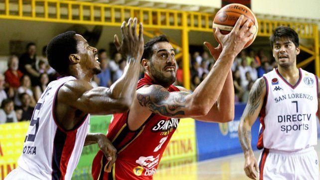 San Lorenzo y San Martín abren la serie final de la Liga Nacional