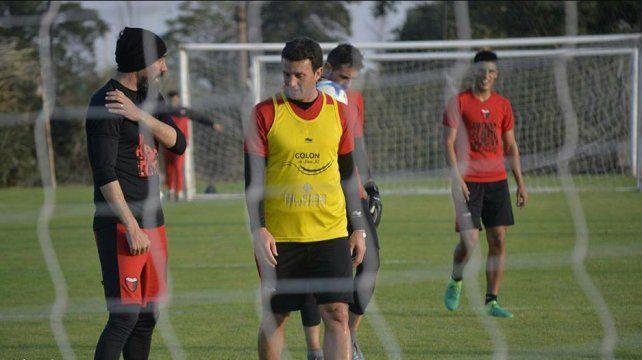 Eduardo Domínguez confirmó que Pablo Ledesma no seguirá en Colón
