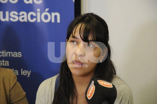 Del Río Ayala. La fiscal que impulsa la causa contra el médico acusado.