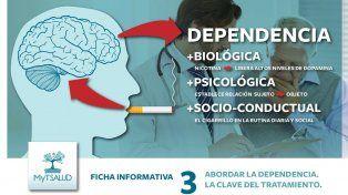 Dependencias: la clave del tratamiento de MyT Salud para dejar de fumar