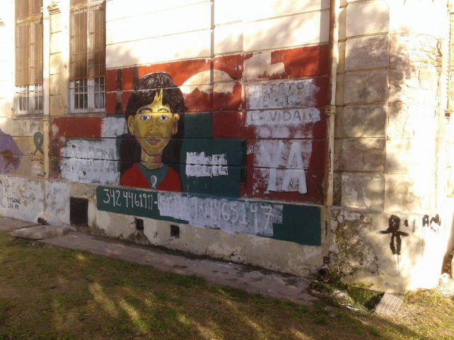 Preocupación por ataques contra consignas feministas en Santa Fe