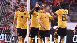 Bélgica aplastó a Costa Rica en el último amistoso antes del Mundial