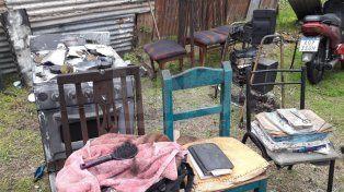 Se incendió una vivienda en barrio 29 de Abril y la familia necesita ayuda