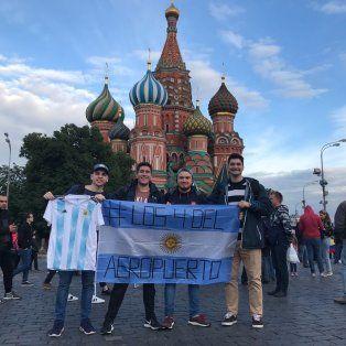 los 4 del aeropuerto: la historia de los santafesinos que llegaron a rusia