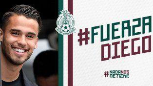 Diego Reyes será baja en la selección de México