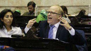 Los que me quieren linchar, que me linchen, dijo Contigiani en el Congreso