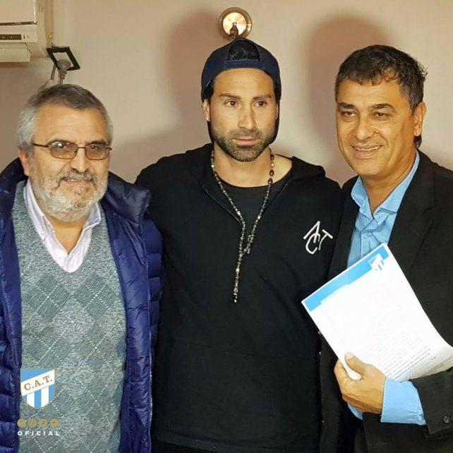 Atlético Tucumán aseguró la continuidad de Lucchetti