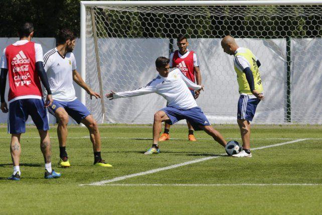 Argentina trabajó por última vez antes del debut con todo definido