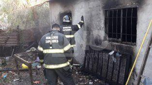 Murió el joven que resultó quemado en su casa del barrio Centenario