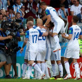 flamengo festejo el gol de islandia y el rey de copas le contesto