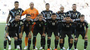 el uno por uno de argentina en el empate ante islandia
