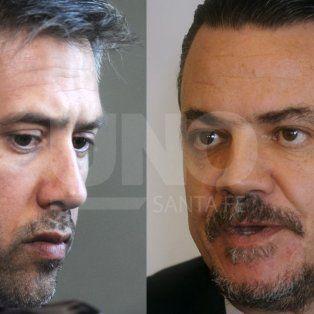 Cruce. Busatto y Galassi mantuvieron un acalorado debate.