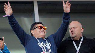 La FIFA cargó con todo contra Diego Maradona