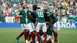 mexico dio el golpe contra el campeon del mundo: le gano 1 a 0 a alemania