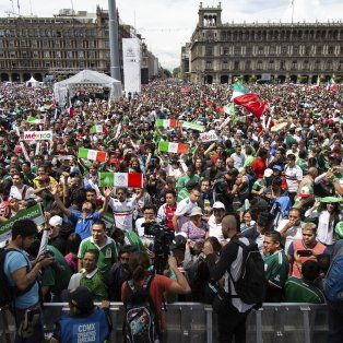 los festejos del gol de lozano causaron un sismo en la ciudad de mexico