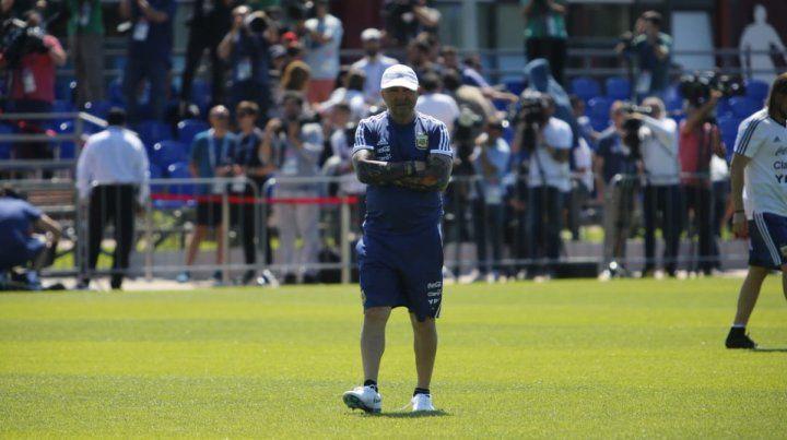 Sampaoli podría patear el tablero para enfrentar a Croacia
