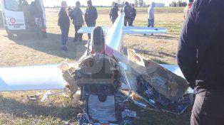Falleció la piloto del planeador que se estrelló en el aeródromo de Esperanza