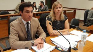 Acusación. Los fiscales, Gonzalo Iglesias y Rosana Marcolín, serán quienes representen a la Fiscalía.