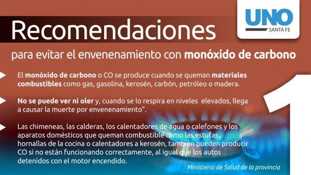 Cómo prevenir una intoxicación por monóxido de carbono